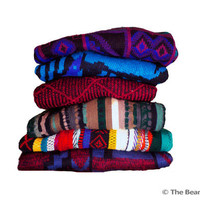 Mystery Cosby Sweater - Bill Cosby - Fresh Prince - Saved by the Bell - 90s Hipster Sweaters