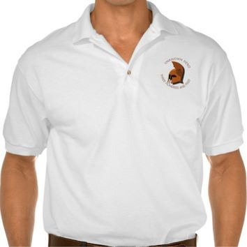 Unknown Spartan 301th Hero Greek Helmet Polo Shirt