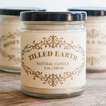 Tilled Earth Apothecary Jar Candle