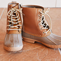 Jango Duck Boot   Grey