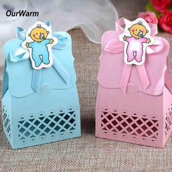 12 Piece Baby Shower Decorative Gift Box