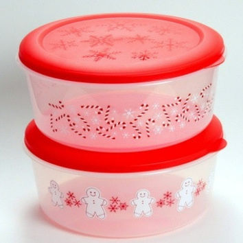 "11"""" Christmas Storage Container Case Pack 48"