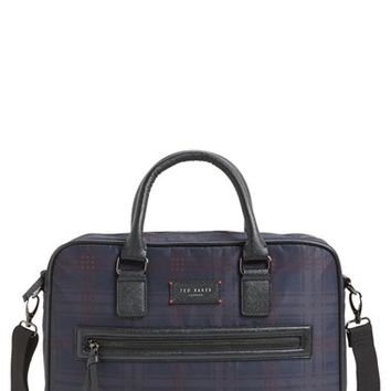 Men's Ted Baker London 'Dieago' Messenger Bag - Blue