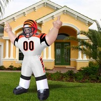 "Cincinnati Bengals 8' Inflatable ""Tiny"" Player Mascot"