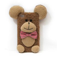 Teddy Bear Handmade Plush Case For iPhone
