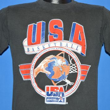 90s USA Olympic Basketball Dream Team 1992 t-shirt Youth XL