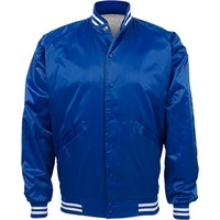 Blank Baseball Bomber in Royal: This Mom Means Business!