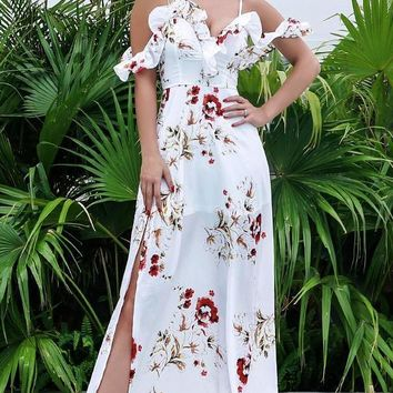 Janie Floral Maxi Dress