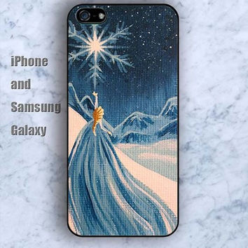 cartoon frozen colorful iPhone 5/5S Ipod touch Silicone Rubber Case, Phone cover