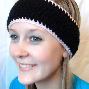 Crochet Headband for Adults, Knit Headwrap