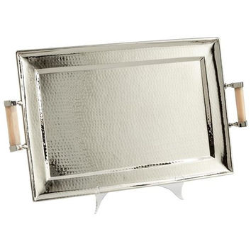 Butlers Palace Tray in Stainless Steel