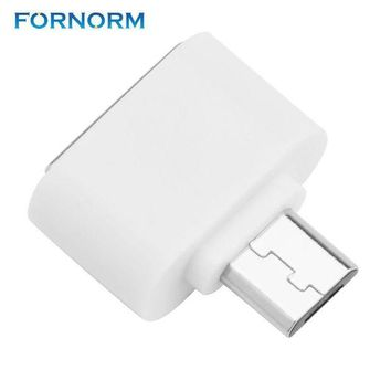 ICIKJY1 FORNORM Mini Micro Usb OTG Cable To USB OTG Adapter For Samsung HTC Xiaomi Sony LG Android OTG Card Reader Usb OTG Adapter