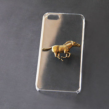 Horse iPhone 5 Case Transparent iPhone 6 Case Clear iPhone 6 Plus Case iPhone 5s Case iPhone Case Galaxy S3 Case Samsung Galaxy S4 Case