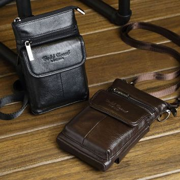Genuine Leather Wallet Pouch