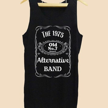 Funny Tank top the 1975, parody jack daniel Tank top Mens and Tank top girl Size S-XXL by AkuKuduKuat