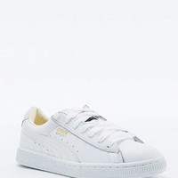 Puma Classic White Leather Trainers - Urban Outfitters