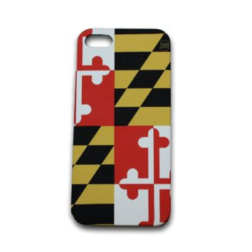 Maryland Flag / iPhone 5 Case