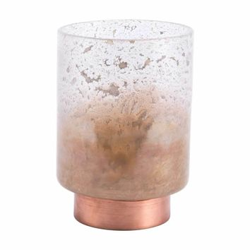 Eliza Large Vase Translucent & Copper