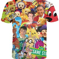 Childhood TV Shows T-Shirt *Ready to Ship*