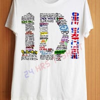 One Direction Shirt Forever Young Shirts 1D Shirt T by 24hrsTShirt