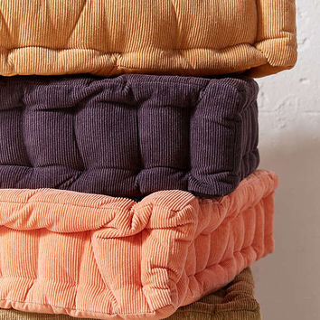 Washed Corduroy Floor Pillow | Urban Outfitters