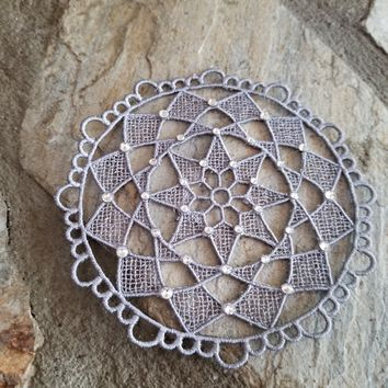Embroiderd Dream Catcher Center