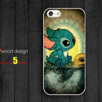 Stitch and Turtle iphone 5 cases Hard case Rubber case iphone 4 case iphone 5 cover the best iphone case