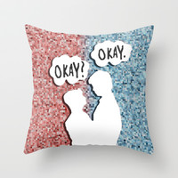 TFIOS #12 Throw Pillow by Anthony Londer | Society6