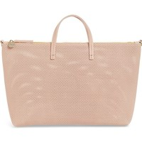 Clare V. Perforated Leather Tote | Nordstrom