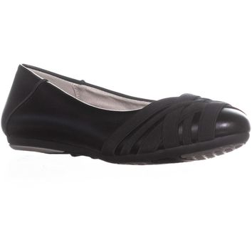Aerosoles Spin Cycle Ballet Flats, Black, 8 US