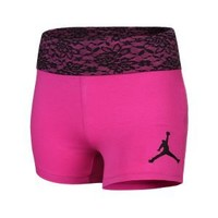Nike Store. Jordan Fly Girl Roll-Over Girls' Shorts