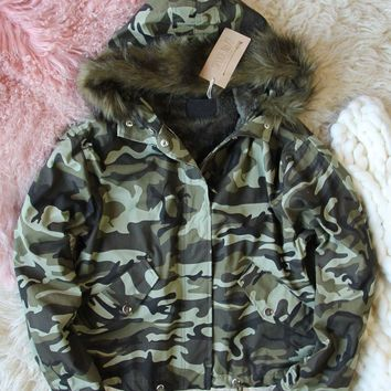 Summit Camo Coat