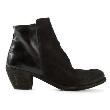 Officine Creative 'Godard' chunky mid-heel ankle boots