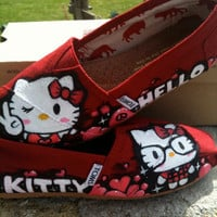 Custom Hello Kitty x TOMS (original design)