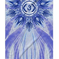 Third Eye Chakra Beach Towel