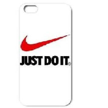Nike just do it  cell phone case For Apple iPhone 5 5s  fitted hard case