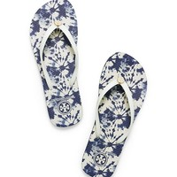 Tory Burch Thin Printed Flip-flop