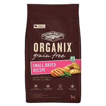 Organix Grain-Free Small Breed Recipe with Chicken and Peas Adult Dry Dog Food -5x4 LB-