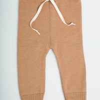 SALE 40% OFF Camel drawstring pants / baby alpaca wool leggings for babies and toddlers pants for boy / girl / toddler / kids / baby