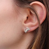 Maryland Blue Crab (Sterling Silver) / Earrings
