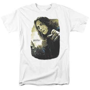 Harry Potter - Snape Poster Short Sleeve Adult 18/1 Shirt Officially Licensed T-Shirt