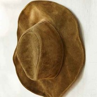 Lovely Bird Suede Bohemian Panama Hat-