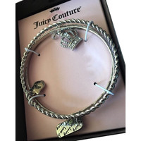 Juicy Couture 3 Bangle Charm Bracelets