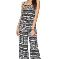 LA Hearts Tank Pantsuit - Womens Dress - Black -