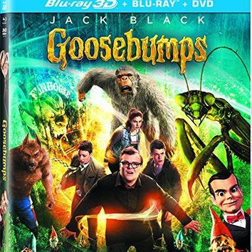 Jack Black & Dylan Minnette & Rob Letterman-Goosebumps