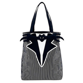 Disney Jack Skellington Tuxedo Tote Bag The Nightmare Before Christmas new