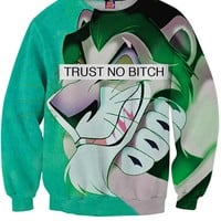 Trust No Bitch Scar Sweatshirt
