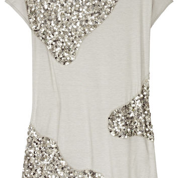 Sequined Jersey Top (Alice + Olivia)