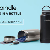 Bindle Bottle: Insulated Water Bottle with Secure Storage