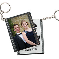 Film Roll Key Chain, Film Strip Photo Keychain, Film Photo Key Ring